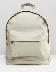 Рюкзак из искусственной кожи Mi-Pac - Светло-серый