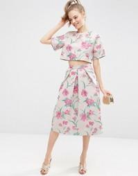 Комбинируемая жаккардовая юбка для выпускного ASOS Premium