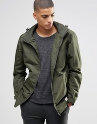 Куртка цвета хаки Selected Cooper - Зеленый