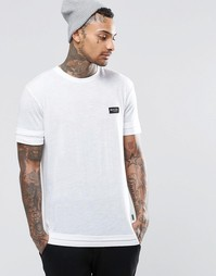 Двуслойная футболка Nicce London - Белый