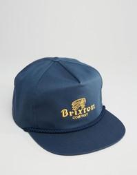 Бейсболка Brixton Tanka HP - Синий