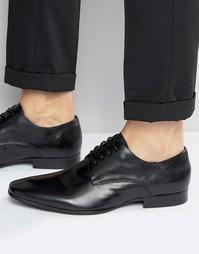 Кожаные туфли дерби ALDO Torey - Черный