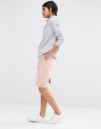 Юбка-карандаш с карманами Selected Alvina - Розово-золотистый
