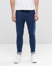 Синие супероблегающие джинсы Only & Sons - Синий