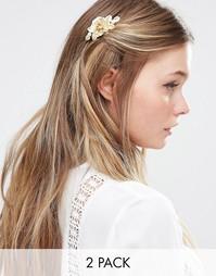 Набор заколок для волос Love Rocks - Золотой