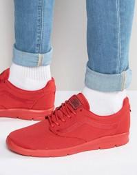 Монохромные кроссовки Vans Iso 1.5 V4O0JL2 - Красный