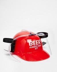 Шлем для выпивания пива без использования рук - Мульти Gifts