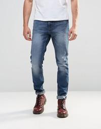 Синие джинсы слим Cheap Monday Sonic - Безукоризненный синий