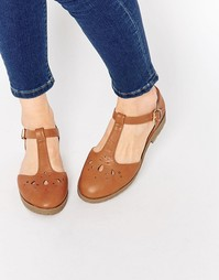 Туфли на плоской подошве ASOS MAISON - Рыжий