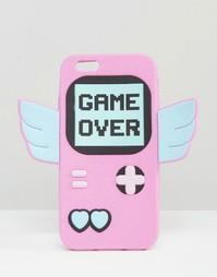 Силиконовый чехол для iPhone 6/6S с принтом Game Over Skinnydip