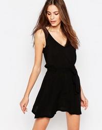 Пляжное платье с завязкой Phax - Черный