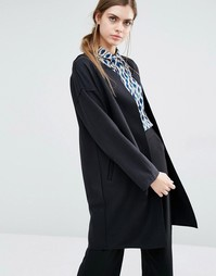Пальто-накидка Suncoo Evie - Noir