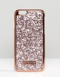 Розово-золотистый чехол для iPhone 6/6s с блестками Skinnydip - Мульти