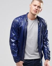 Блестящая куртка-пилот YMC - Темно-синий