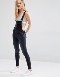 Джинсовый комбинезон Calvin Klein Jeans - Black washed release
