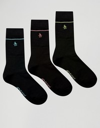 Комплект из 3 пар носков Original Penguin - Черный