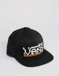 Черная кепка Vans X Nintendo Mario VZ6PKL3 - Черный