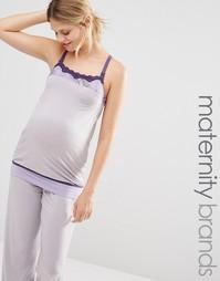 Пижамный топ для беременных и кормящих женщин Cake Sugar Plum