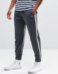 Темно-синие зауженные спортивные брюки в стиле ретро Abercrombie & Fit