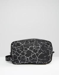 Черный несессер с принтом трещин Mi-Pac - Мульти