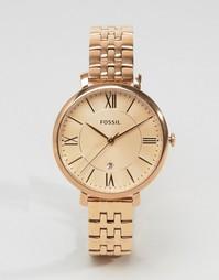 Часы оттенка розового золота Fossil ES3435 - Розовое золото