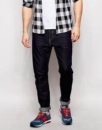 Темные джинсы зауженного кроя Lee - Top blue