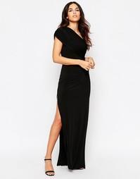 Платье макси на одно плечо Hedonia Willow - Черный
