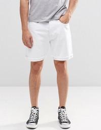 Белые джинсовые шорты Levi's 501 CT - White light Levi's®