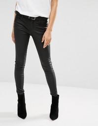 Кожаные джинсы Muubaa Eccleston - Черный