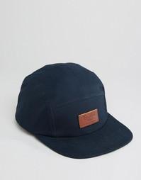 5-панельная кепка Brixton - Синий