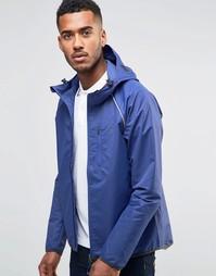 Легкая куртка на молнии с капюшоном Farah Hadlow - Синий