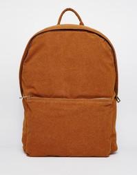 Рюкзак из искусственной замши ASOS - Рыжий