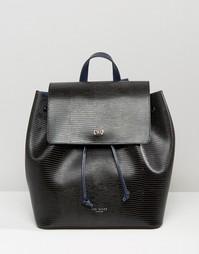 Рюкзак с отделкой под змеиную кожу Ted Baker - Черный