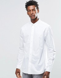Рубашка с воротником на пуговицах YMC - Белый