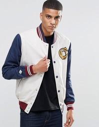 Бейсбольная куртка Pepe Jeans - Белый