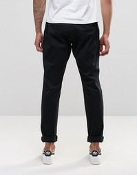 Выбеленные брюки слим YMC - Черный
