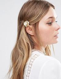 Заколка для волос с розой Love Rocks - Золотой
