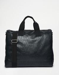 Фактурная сумка из искусственной кожи ASOS - Черный