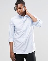 Рубашка с длинными рукавами ADPT Beck - Синий