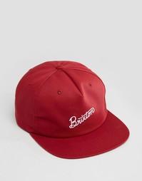 Бейсболка Brixton Sunder - Красный