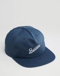 Бейсболка Brixton Sunder - Синий
