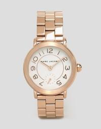 Часы цвета розового золота Marc Jacobs Riley MJ3471 - Розовое золото