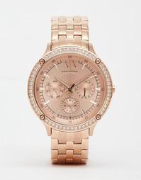 Часы цвета розового золота Armani Exchange Capistrano - Розовое золото
