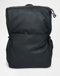 Рюкзак с карманами на шнурках ASOS - Черный