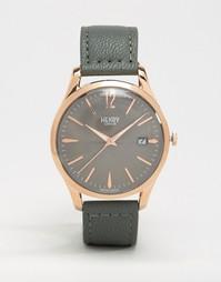 Серые часы Henry London Finchley HL39-S-0120 - Серый