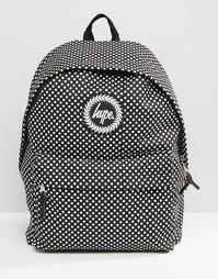 Рюкзак в горошек Hype - Черный