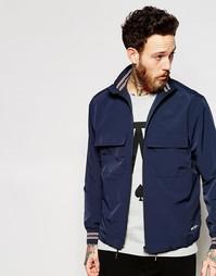 Темно-синяя куртка с воротником‑стойкой Wood Wood - Tota