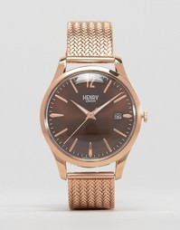 Часы Henry London Harrow - Золотой