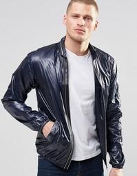 Блестящая куртка-пилот YMC - Черный