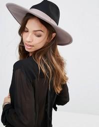 Фетровая шляпа с широкими полями Brixton